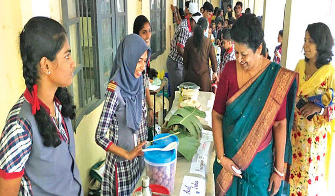 Children get good response for the charity sale