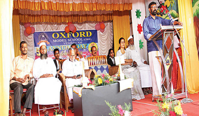 Fifth annual day witnesses stunning  & thought-provoking performances