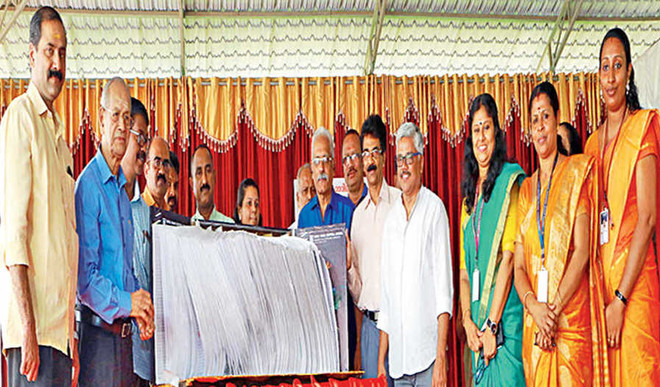 Vidya Times an epitome of co-curricular activity, says E Sreedharan