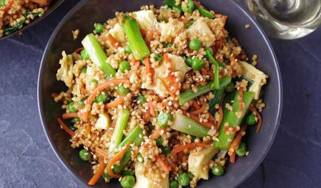 Yummy Healthy Millet Fried Rice