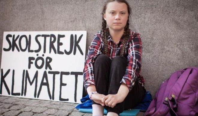16YO Greta Nominated For Nobel Peace Prize