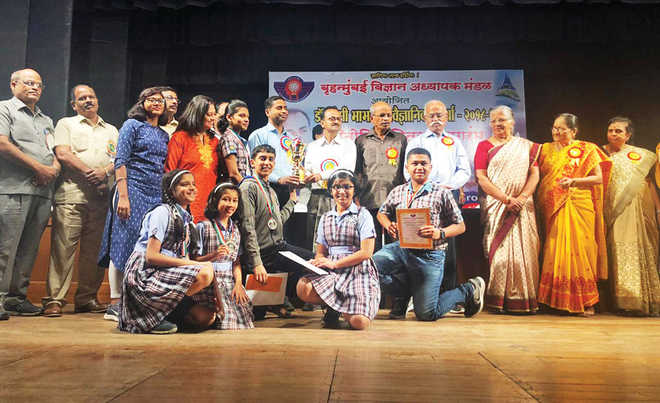 City Pride Bags The 'Best Performing School Trophy' At Homi Bhabha Competition