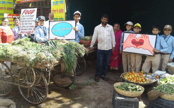 An Awareness Drive To  'Think Global, Eat Local'