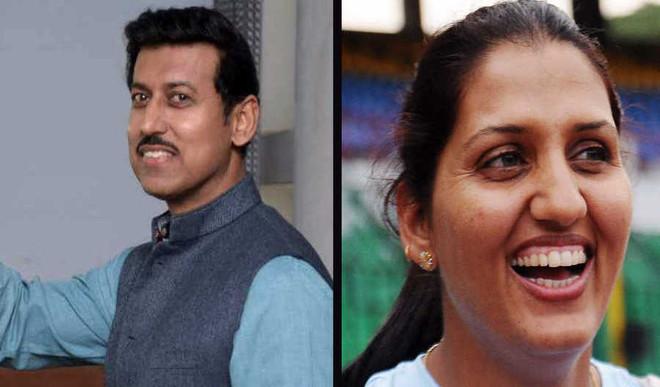Rajyavardhan Rathore vs Krishna Poonia