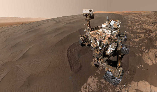 Found: Potential Methane Source On Mars
