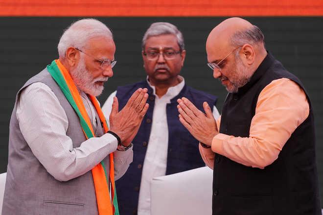 PM Modi, Shah Launch Manifesto: Sankalp Patra