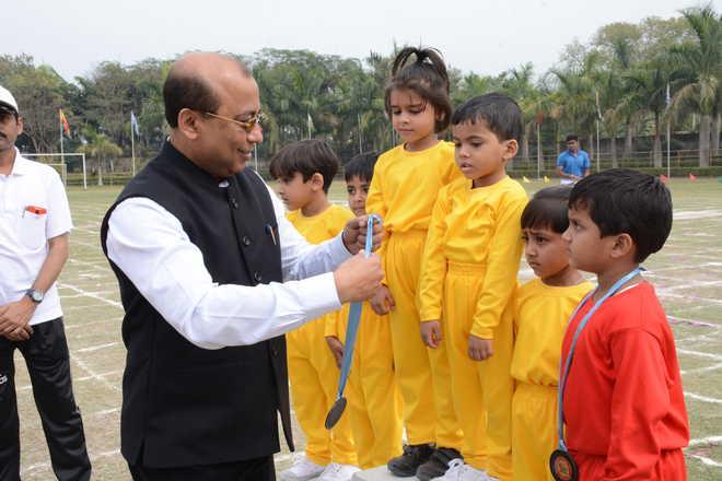 Adamas World School holds annual sports day