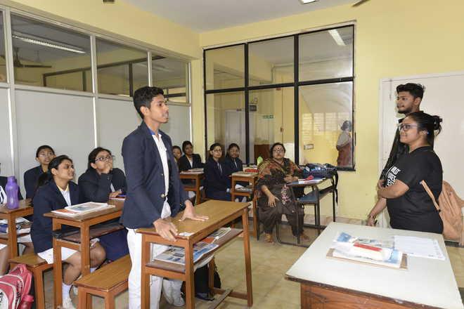 AIESEC volunteers create awareness about sustainable development goals in schools