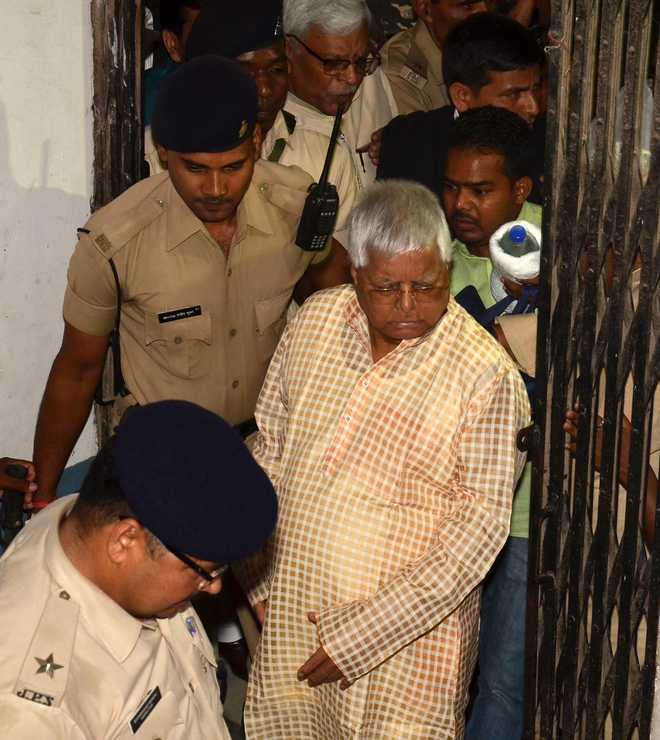 SC dismisses bail plea of Lalu Prasad Yadav
