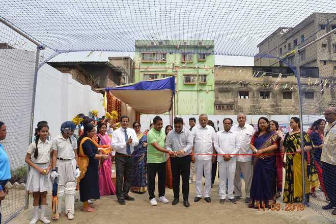 Agrasain sports complex inaugurated