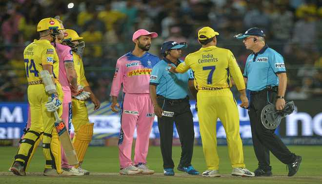 Dhoni Fined For Altercation With Umpires