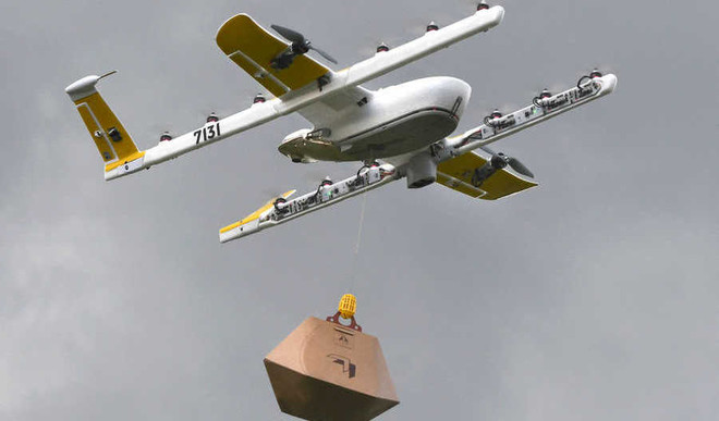 Google Drone To Deliver Food In Australia