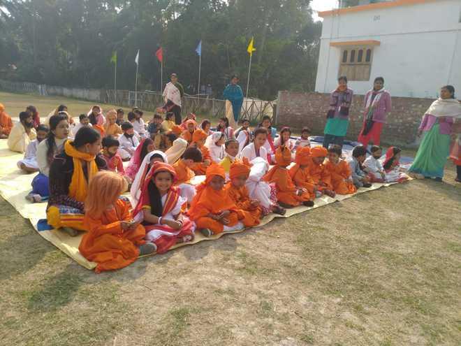 Activities at Swami Vivekananda Centenary School