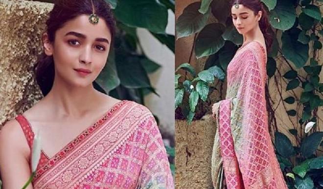 Saree Inspiration By Alia Bhatt