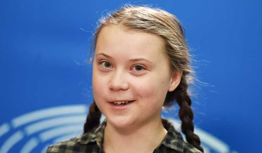 Save The World Like Notre-Dame: Thunberg