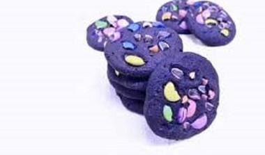 Double Chocolate Purple Cookies