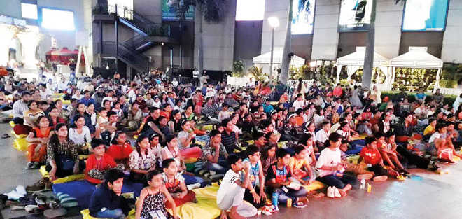 Students Treated To The Adventures Of 'Moana'