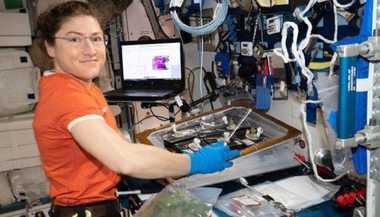Longest Space Flight By A Woman