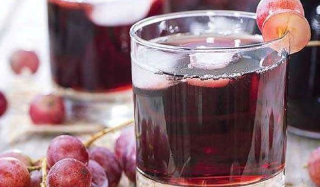 Healthy Delicious Grape Juice