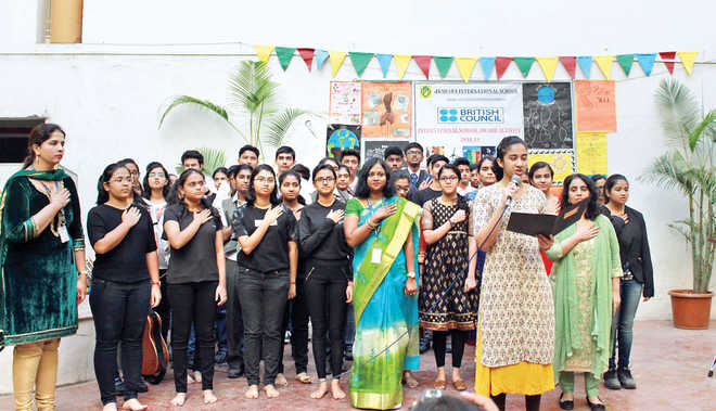 Students Research On 'Carbon Footprint'; Pose Solutions