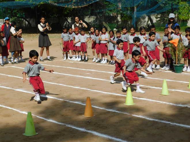 Shishu Niketan Holds Sports Meet For Primary Wing