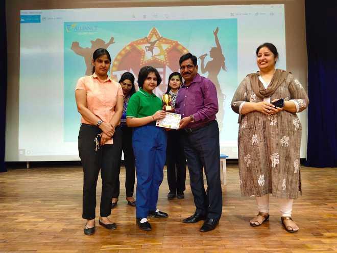 Talent Hunt Winners Felicitated