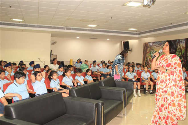 Students Sensitised About Good-bad Touch