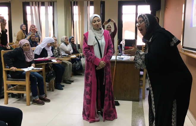 Egypt teaches students about love, marriage and sharing responsibilities