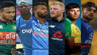 WC: Top Allrounders To Watch Out For