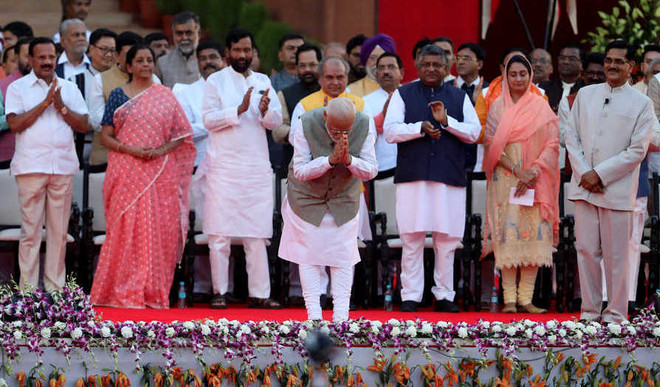 UP Has Most Ministers, AP None In Modi 2.0