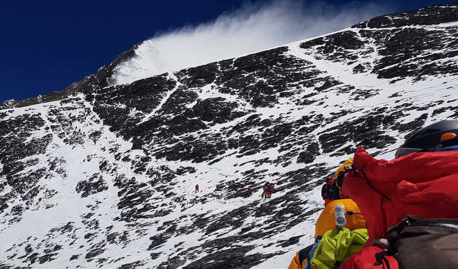 1st Everest Clean-up Throws Up 11Tonne Trash