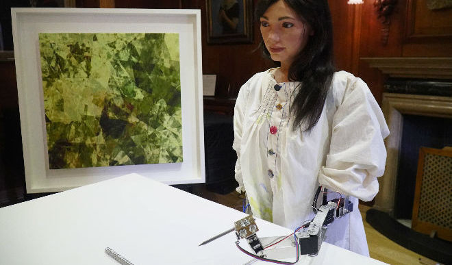 Meet Ai-Da, World's First Robot Artist