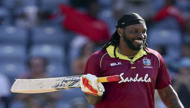 Gayle Relishing Taking On Eng Quicks
