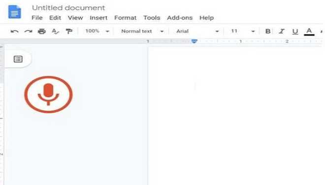 How To Use Voice Typing In Docs