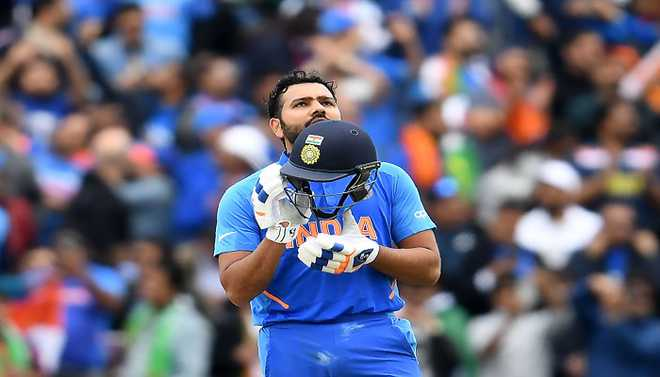 Rohit In Illustrious Band Of Batsmen