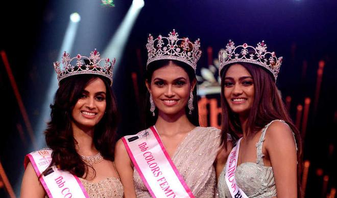 Rajasthan Girl Suman Rao Crowned Miss India