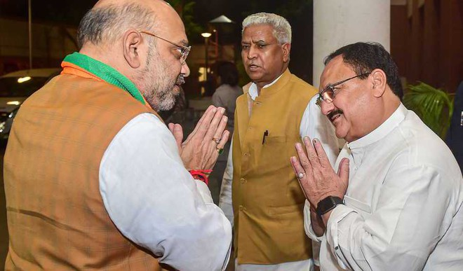 Nadda Is BJP Working president, Shah To Stay Party Chief