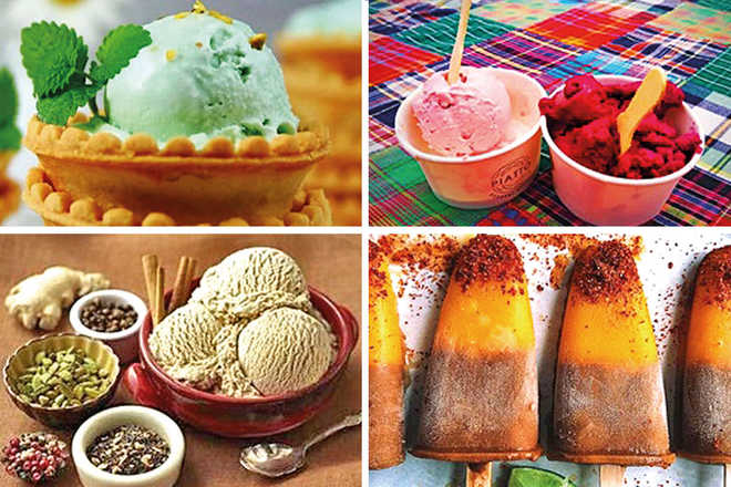 Desi Twist To Ice Creams!