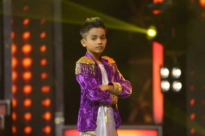 Talented Dancer from Bhaktavatsalam Vidyashram