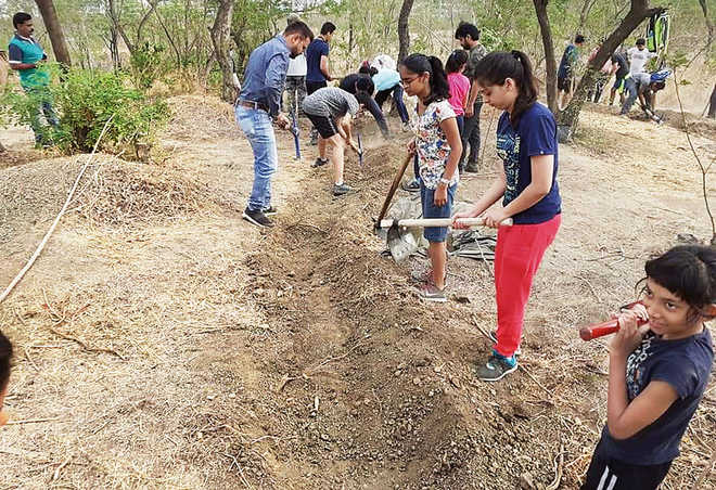 Joining Hands For Water Conservation
