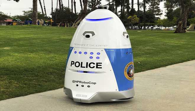 Real-life 'RoboCop' To Hit The Streets