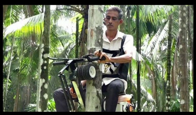 Farmer Develops Bike-Like Machine. Goes Viral