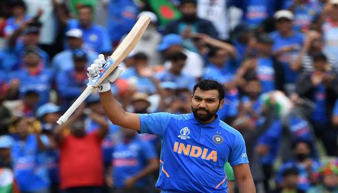 Inspired Rohit Is India's WC Heartbeat