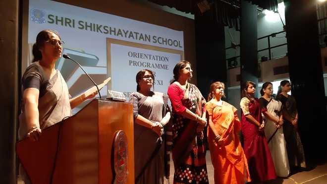 Shri Shikshayatan School holds orientation programme for class XI students