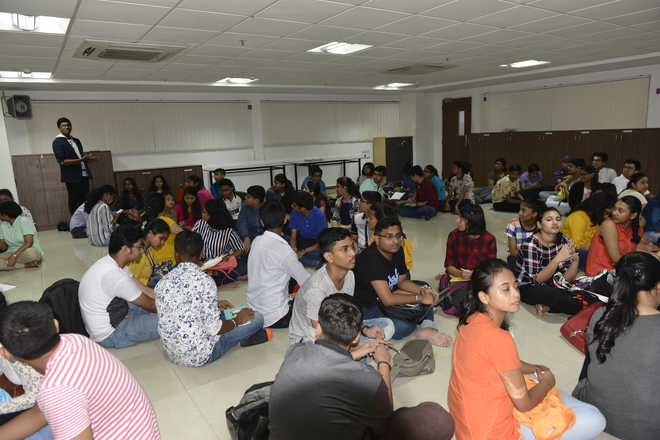 Budding journalists enjoy interactive sessions while making new friends