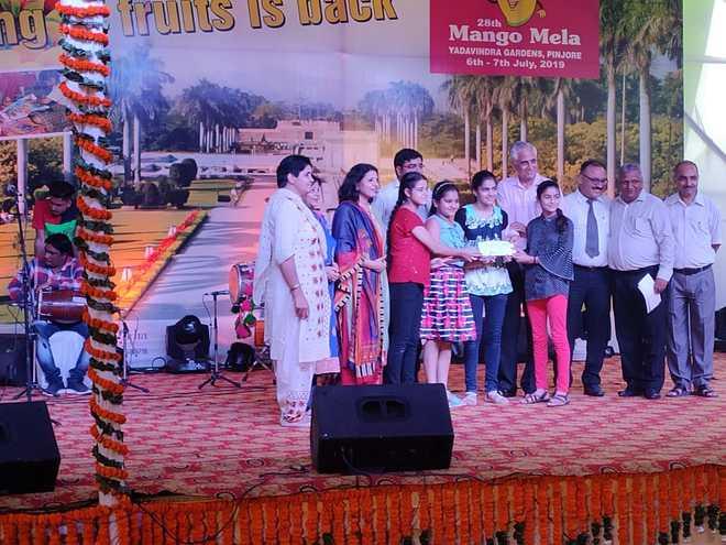 Winners Of Events At Mango Mela