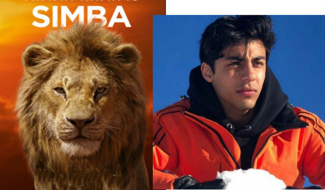 SRK's Son Aryan Khan Roars As Simba