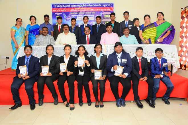 Sri Chaitanya Techno School Emerge Triumphant in NASA Debate