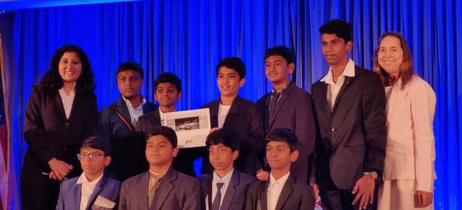 Young Achievers Strike a Pose