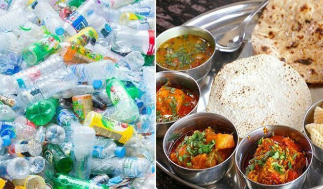 A Full Meal For Plastic Waste At New Garbage Cafe